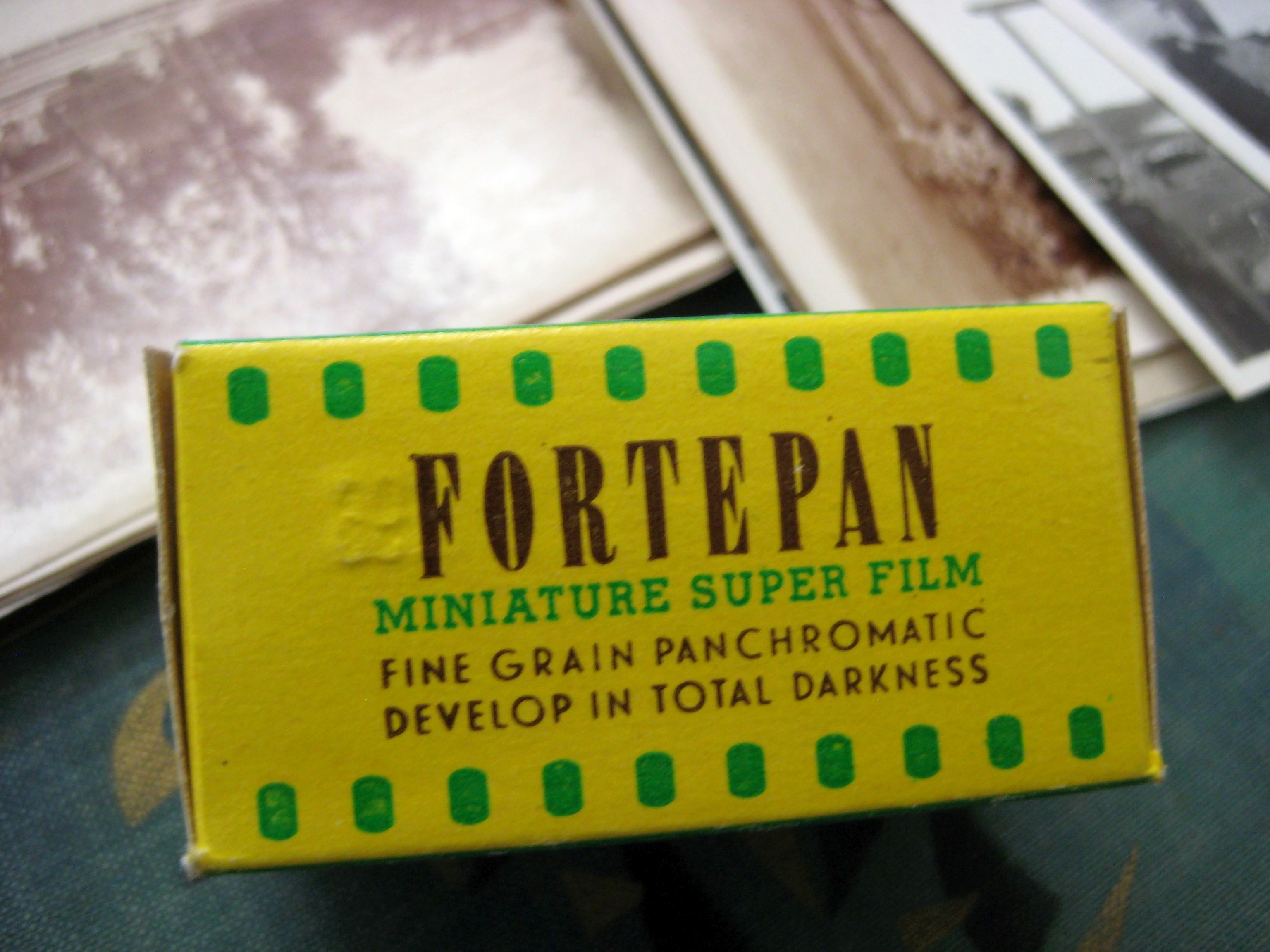 Fortepan film, product of Forte factory, photo by Tamás Scheibner