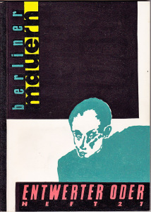 Cover Harald Rautenberg,published by Uwe Warnke